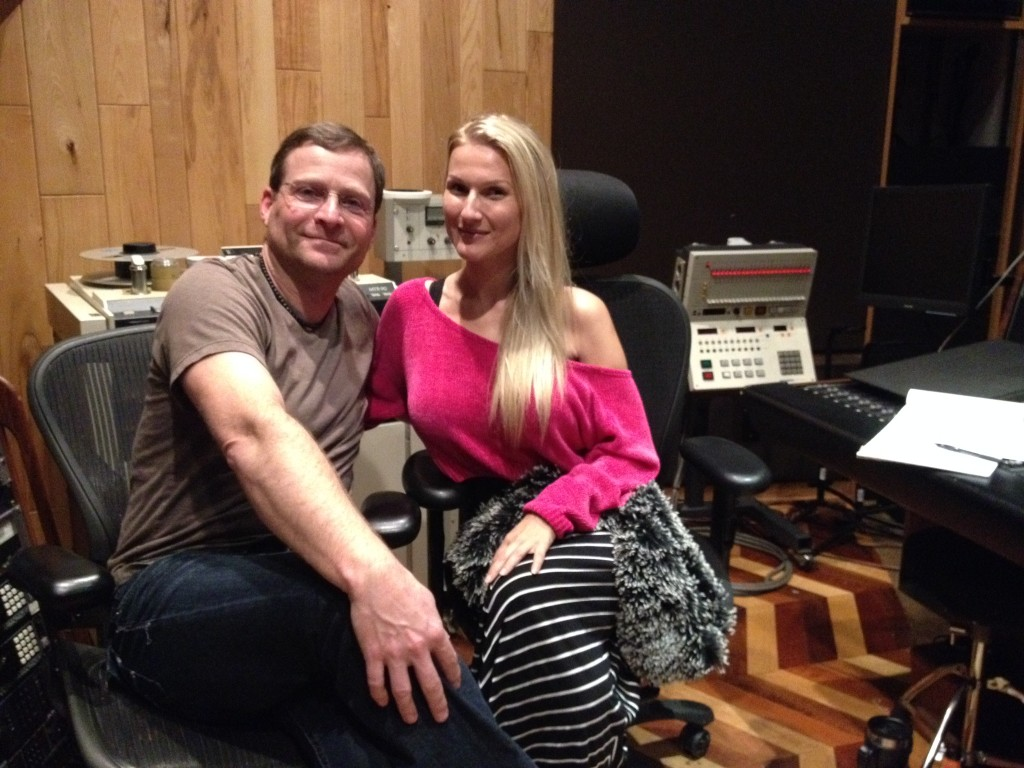 Tommy Fedak with Jaqueline Marie @ Big Fish Recording Studio