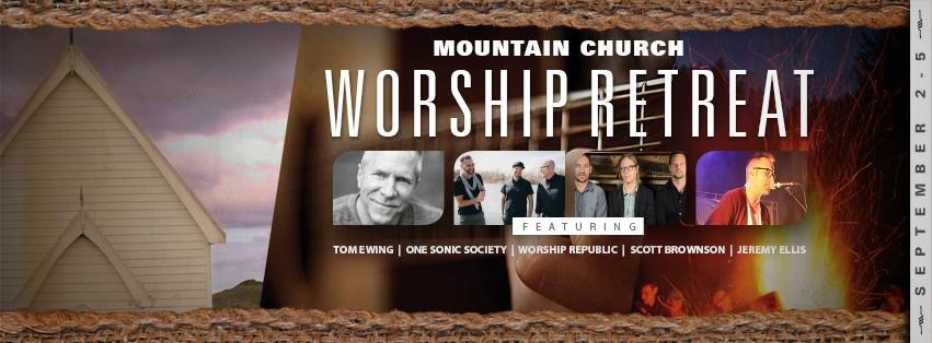 Tommy Fedak at Mountain Church Worship Retreat