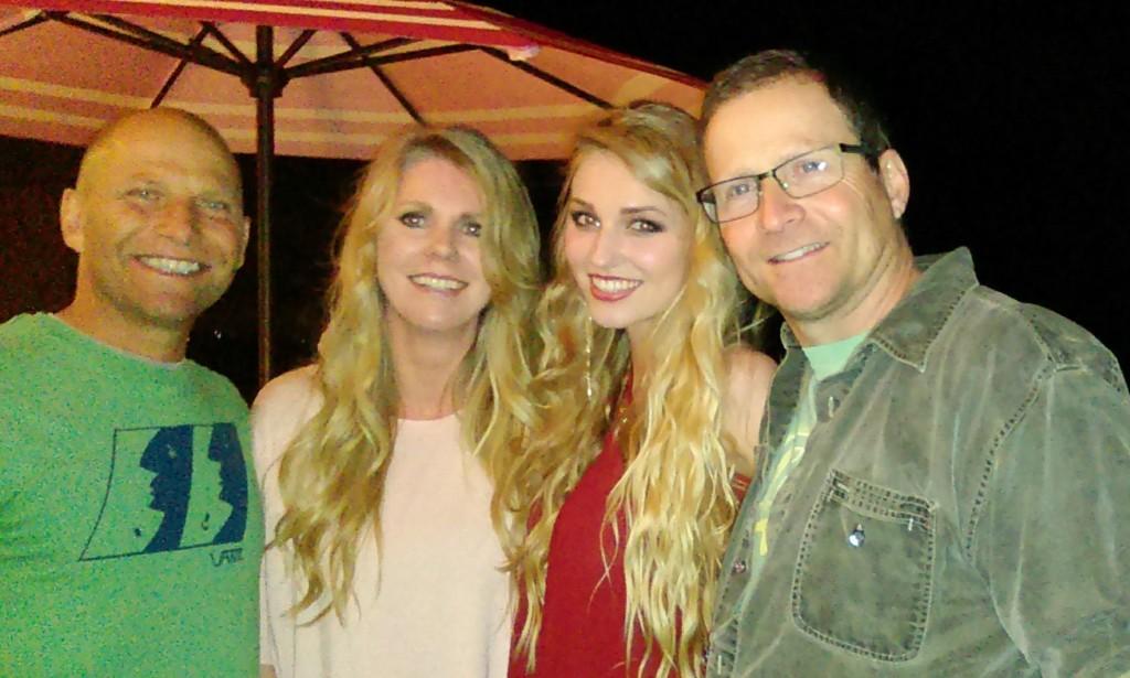 Tommy Fedak with Billy Fedak Brittany Saasen & Theresa Sasssen