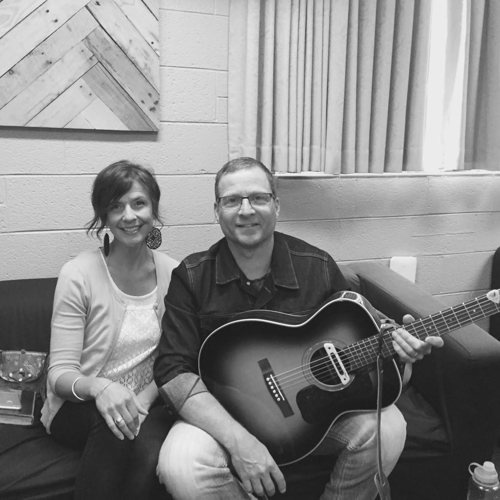 Tommy Fedak with Spirit Laursen at Remption Church Spokane WA