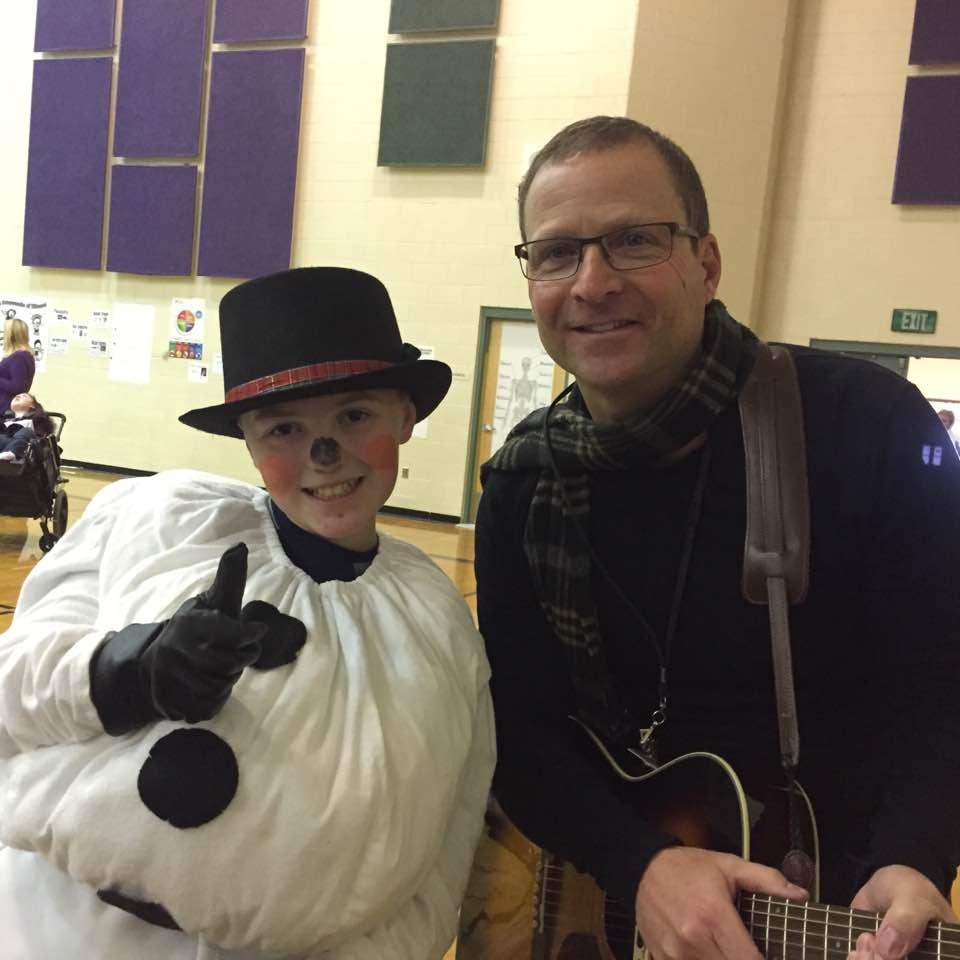 Tommy Fedak at Purple Sage Elementery Christmas program