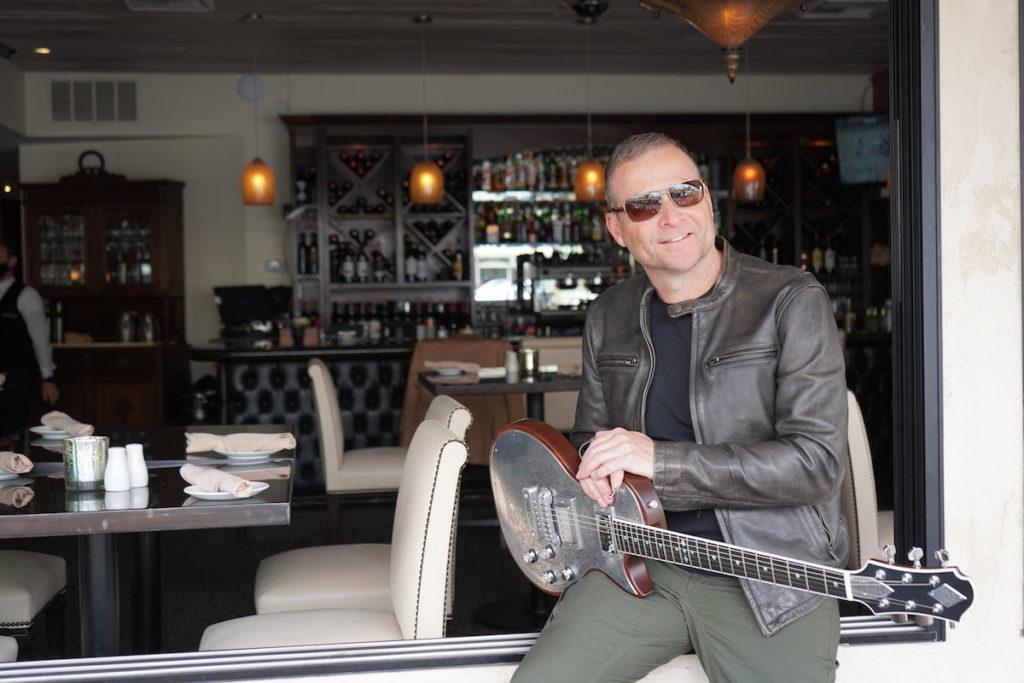 Tommy Fedak at Vigilucci's in Carlsbad, CA